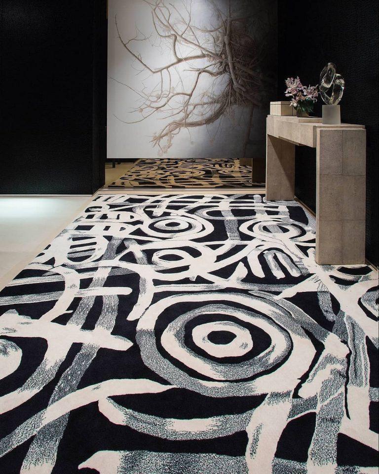 Womens Gathering rug by Minnie Pwerle