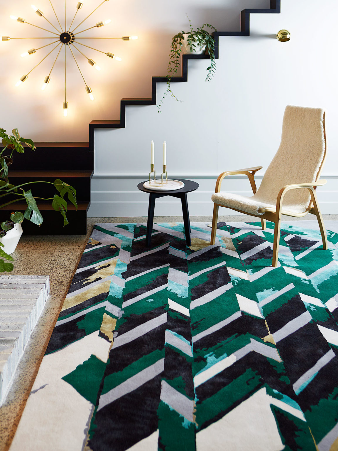 Rift Rug from the Transient Collection