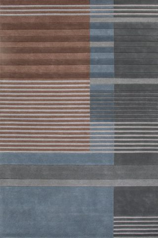 overhead of straight forward rug evolve collection