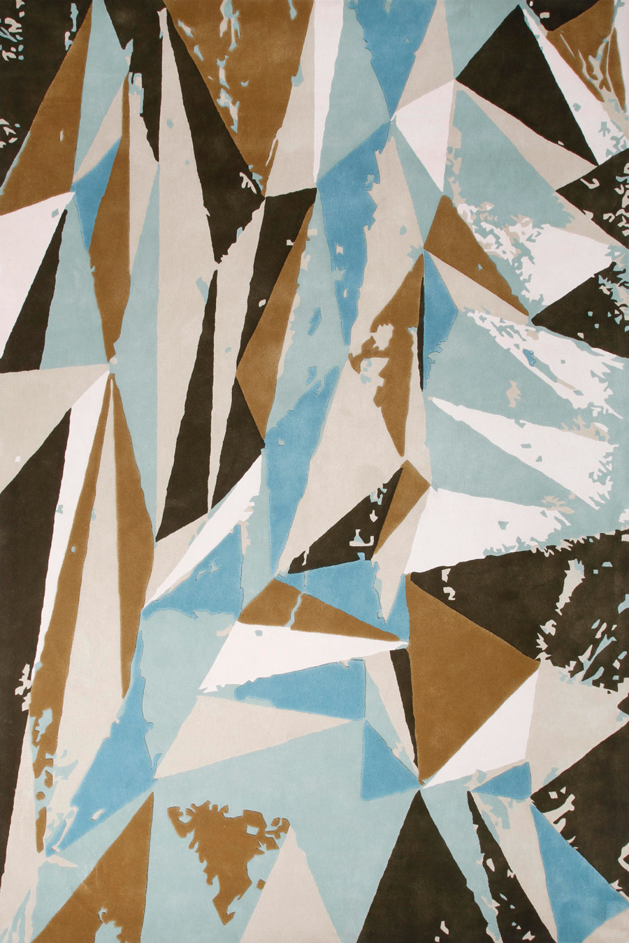 overhead of wairau rug evolve collection