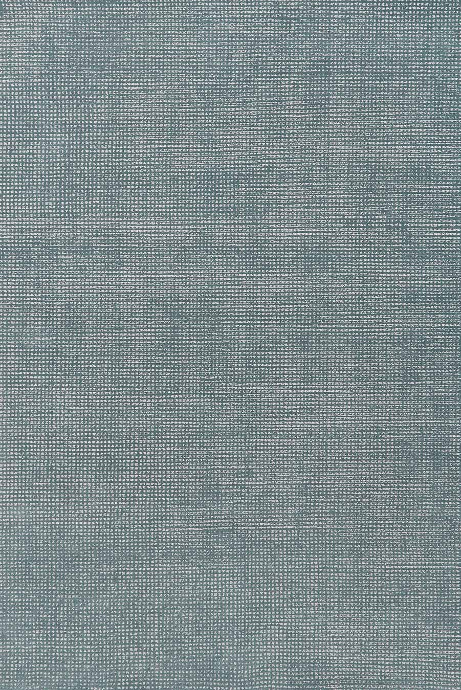 Overhead view of Lithium rug in denim blue colour