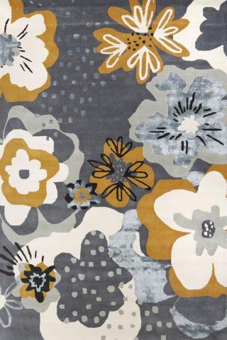 overhead image of floral Twiggy rug