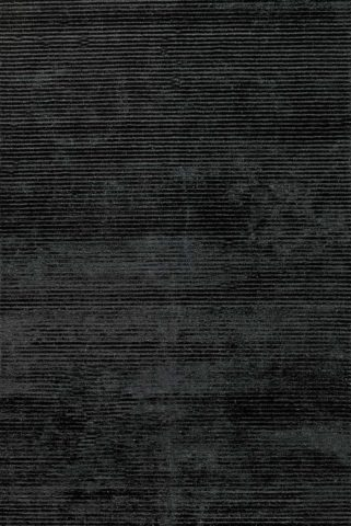 Overhead view of textured Velour rug in charcoal colour