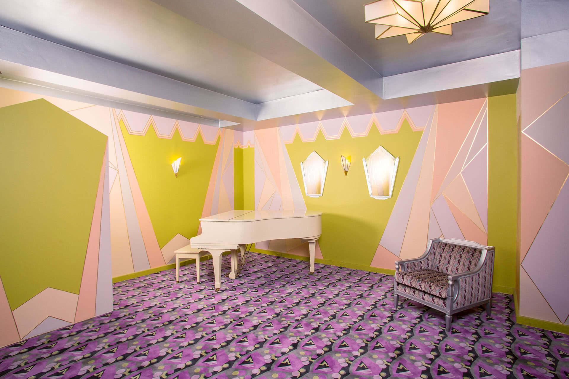 The State Theatre custom project futuristic room