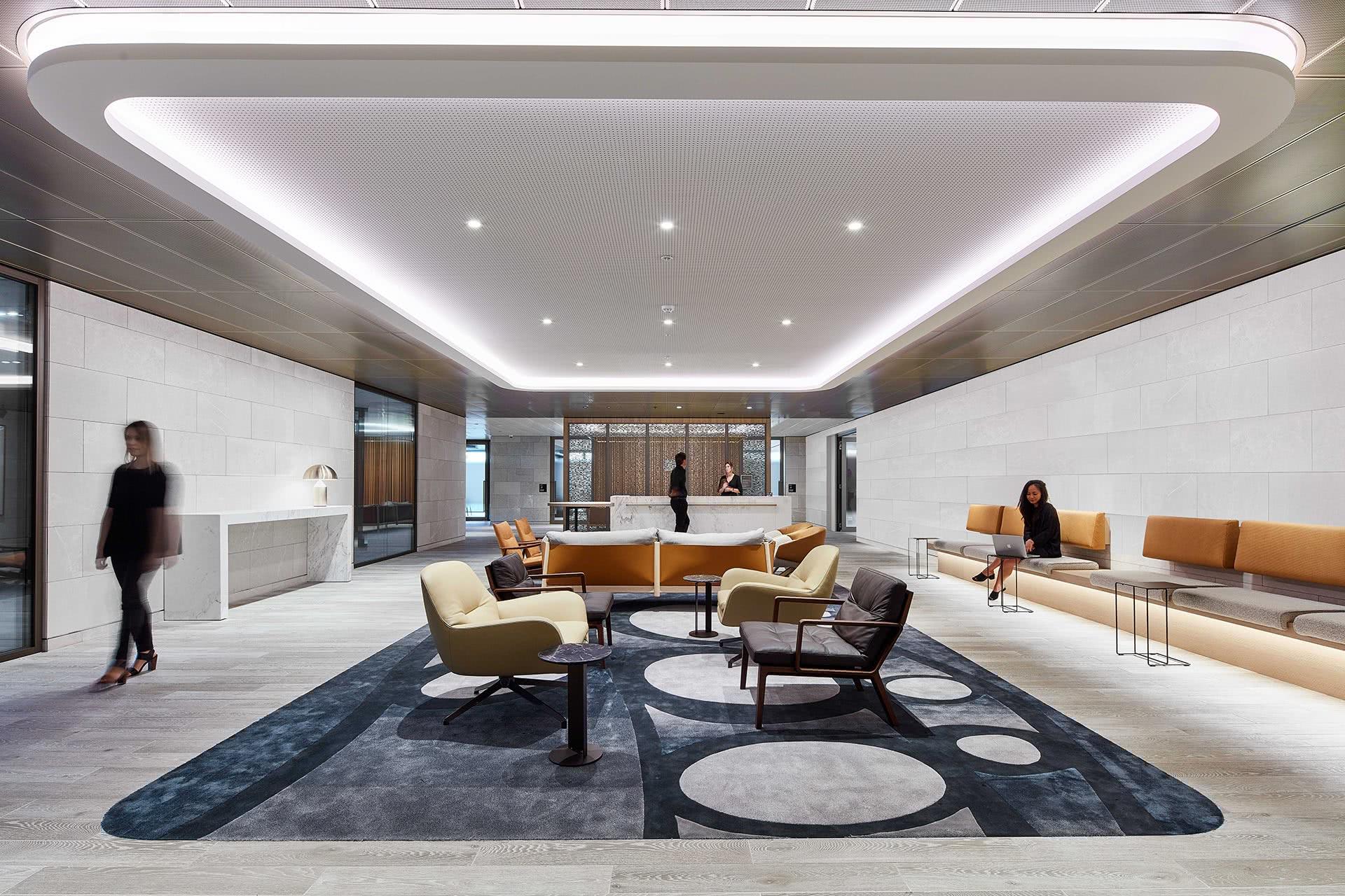 Westpac Designer Rugs project foyer