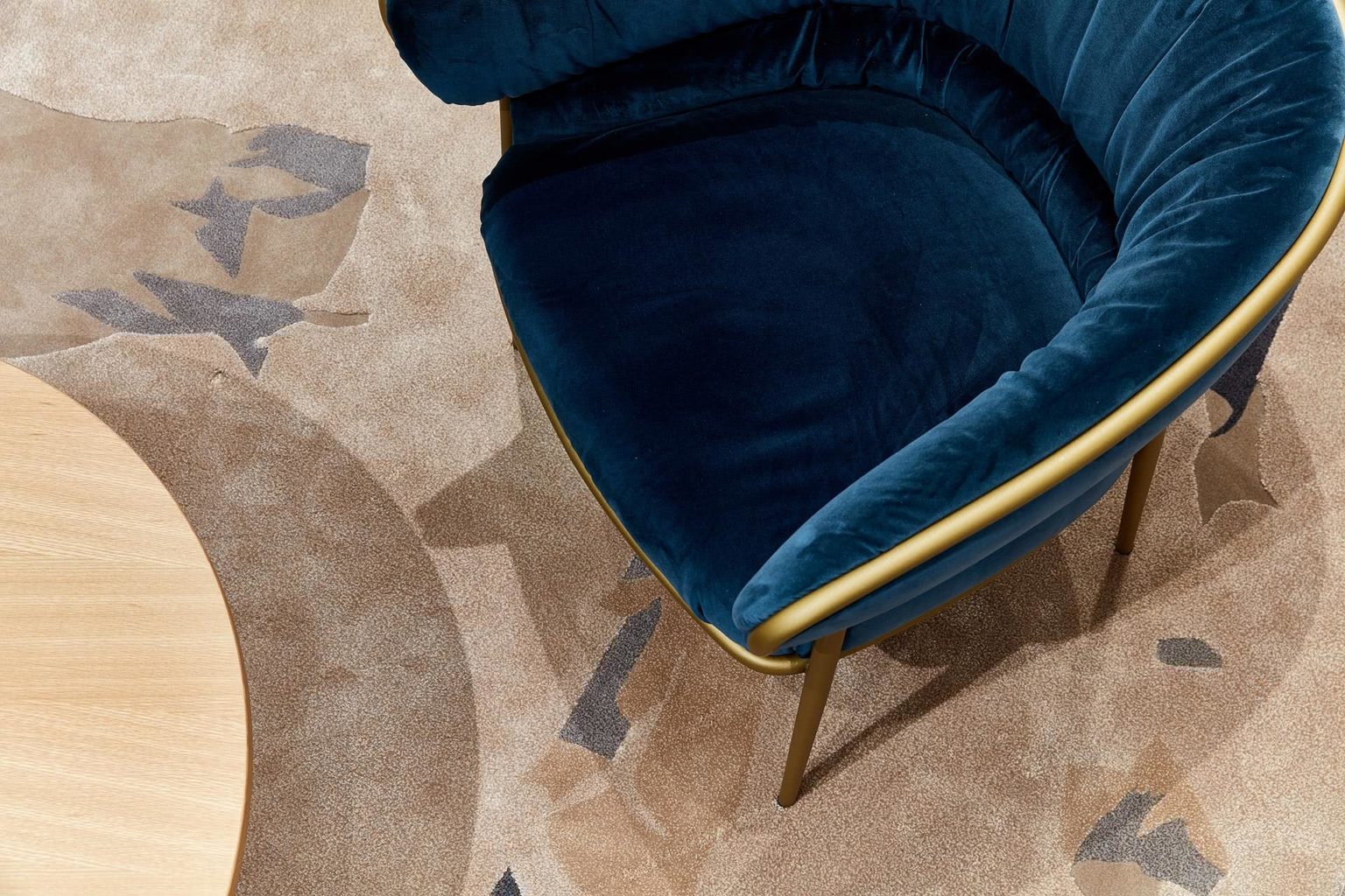 Westpac Commercial project with chair and rug