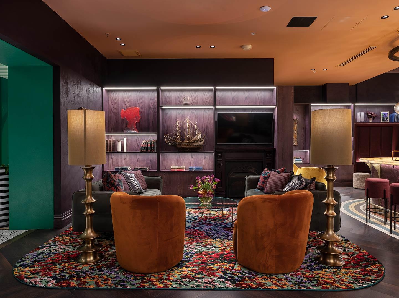 Custom Axminster carpet by Karl Maughan