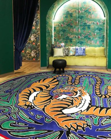 Custom handtufted rug