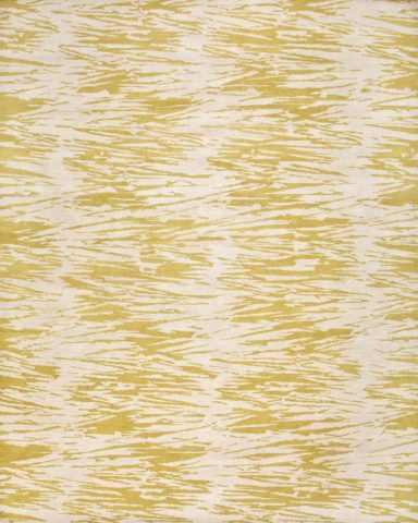 overhead of straw rug by anna carin in beige organic pattern