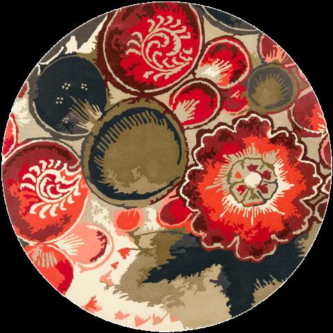 overhead of favorita rug by easton pearson