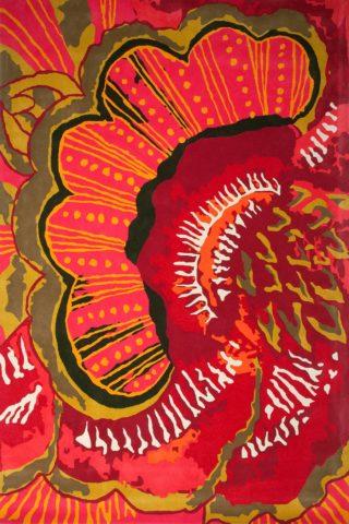 overhead of splendida rug by easton pearson