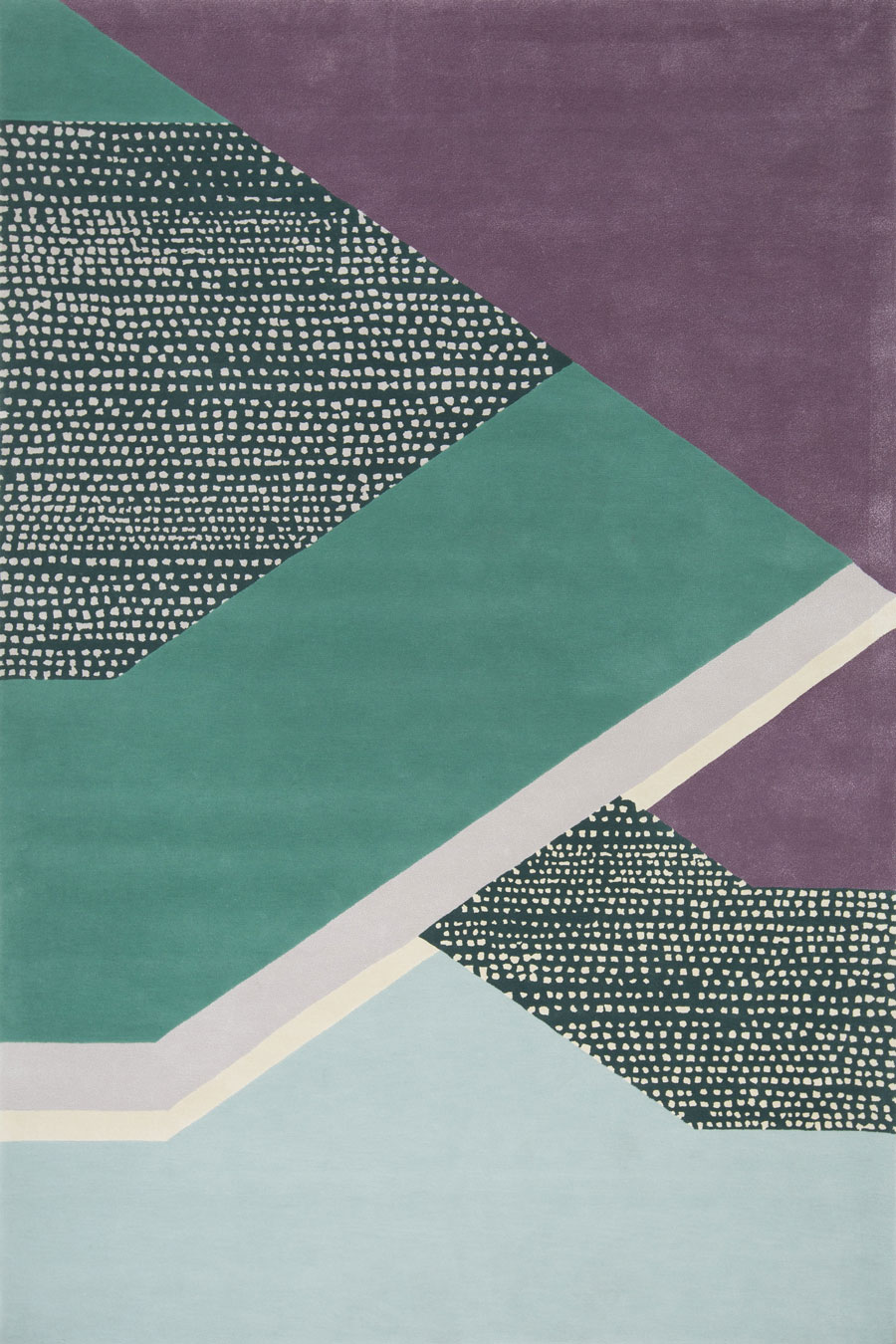 overhead of facade rug evolve collection