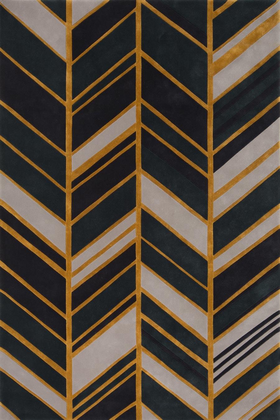 overhead of metamodra rug evolve collection