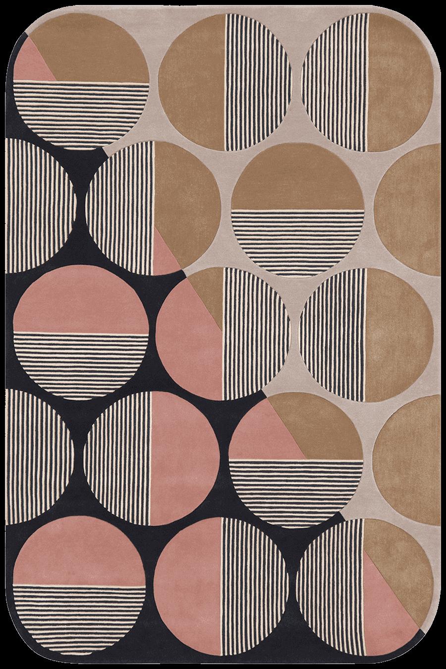 overhead of newton rug by gavin harris
