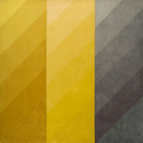overhead of reflector rug by gavin harris