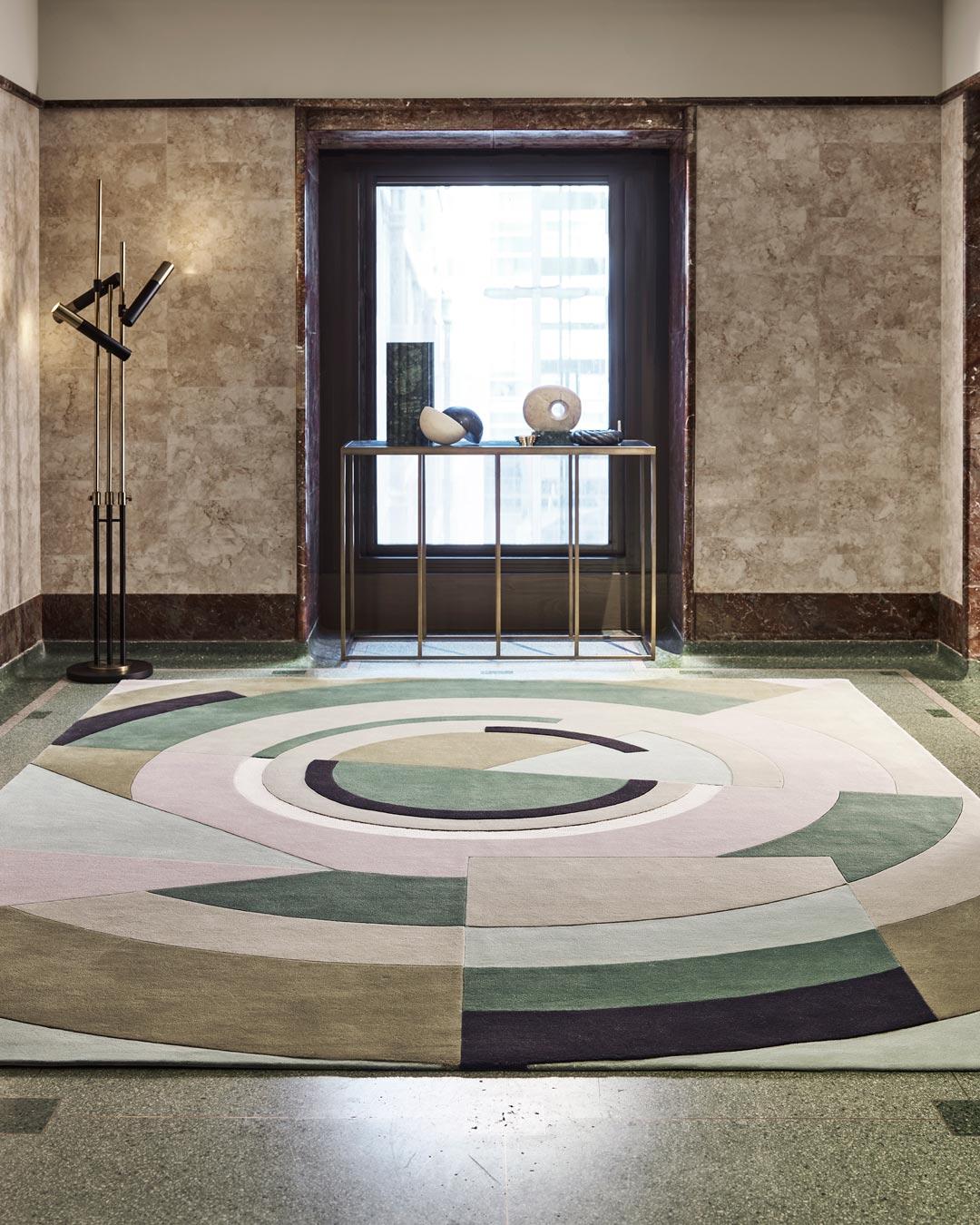 location shot of despres rug by greg natale