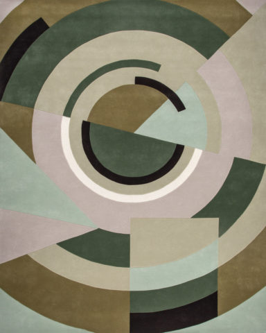 overhead of despres rug by greg natale