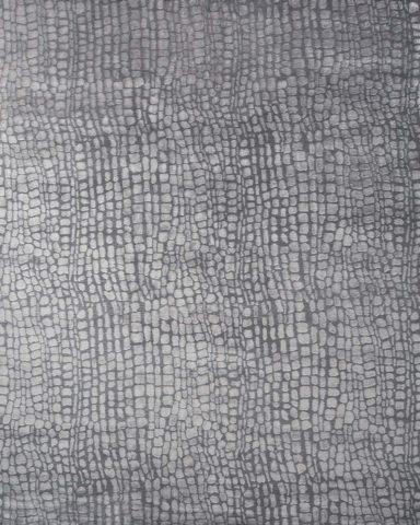 overhead of hide rug by greg natale
