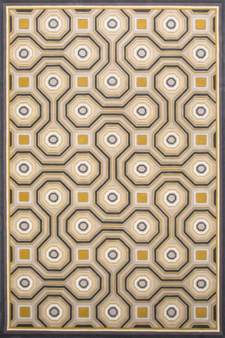 overhead of knightsbridge rug by greg natale