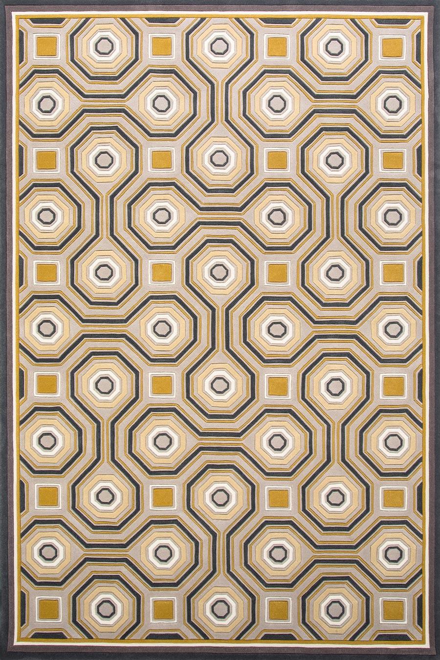 overhead of knightsbridge rug by greg natale