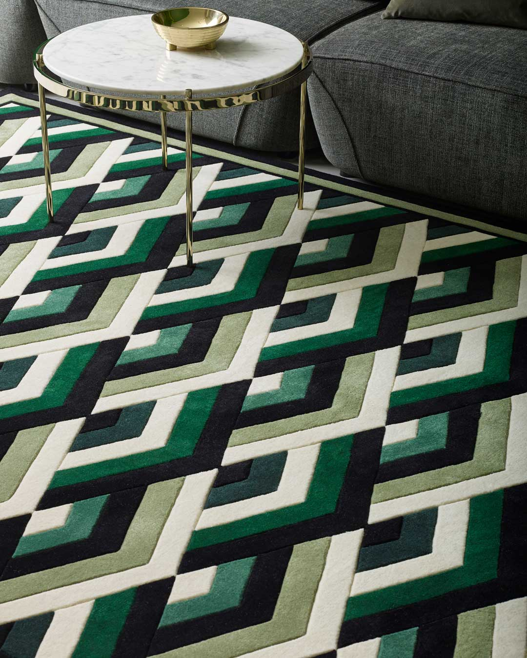 close up of moscow rug by greg natale