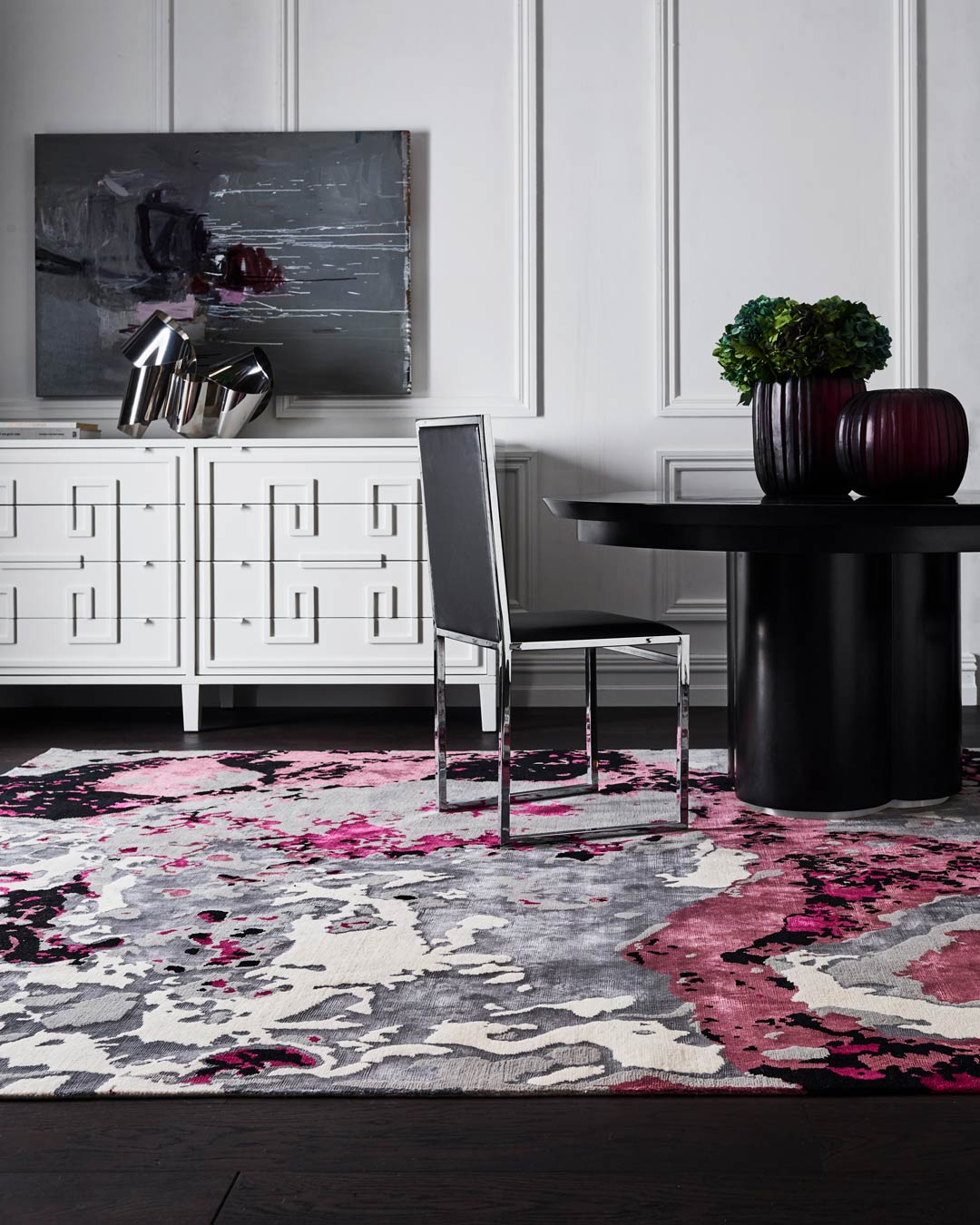 location shot of onyx rug by greg natale