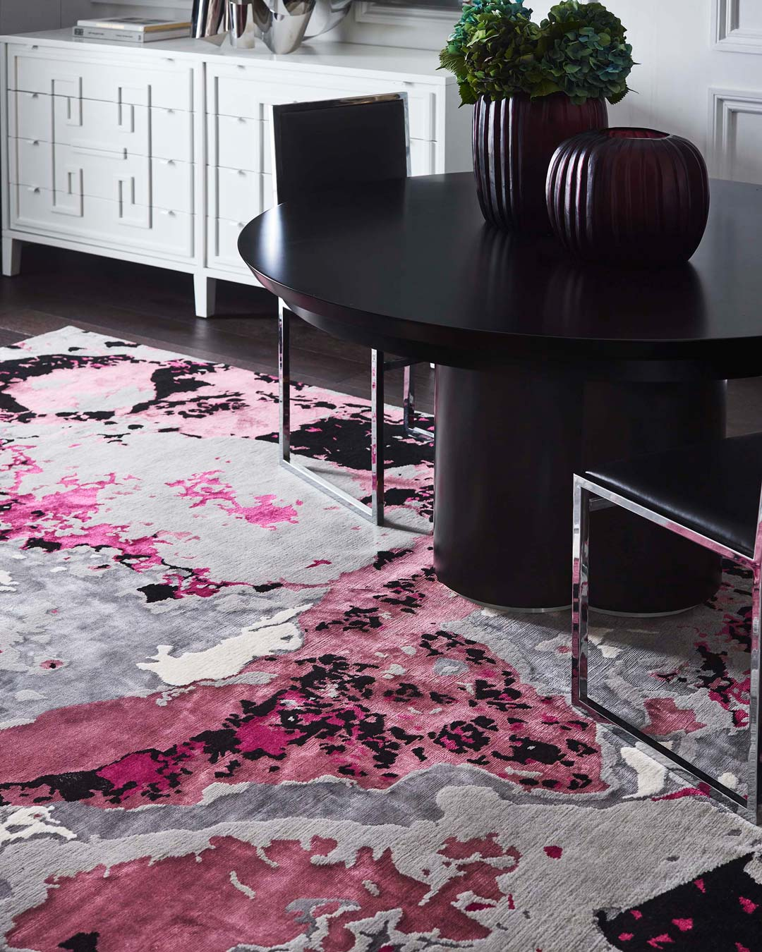 close up of onyx rug by greg natale