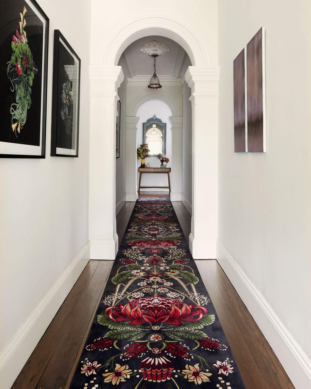 Bush Bouquet rug designed by House Of Heras