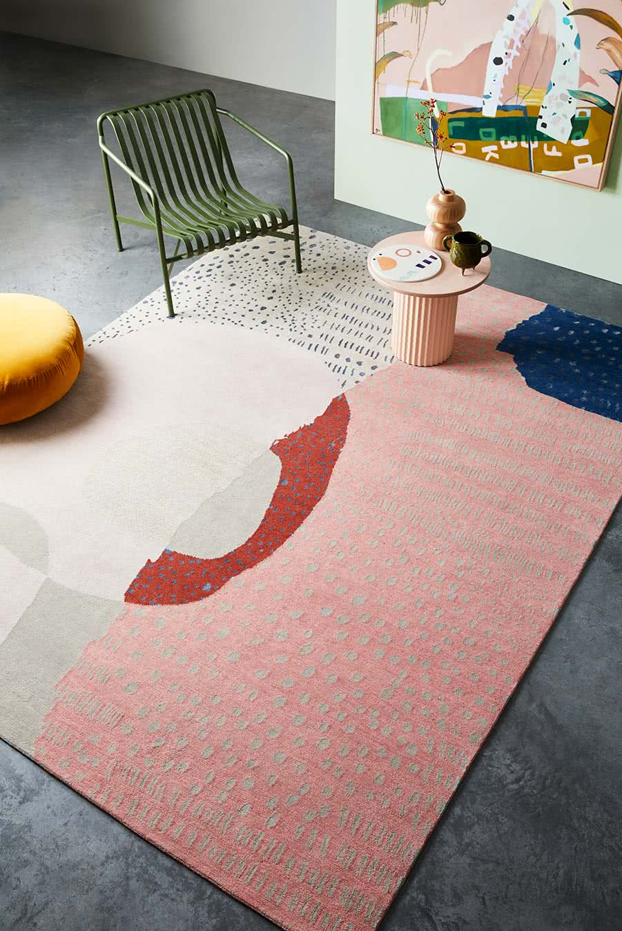 Bainbrige rug from our in-house Carousel Collection
