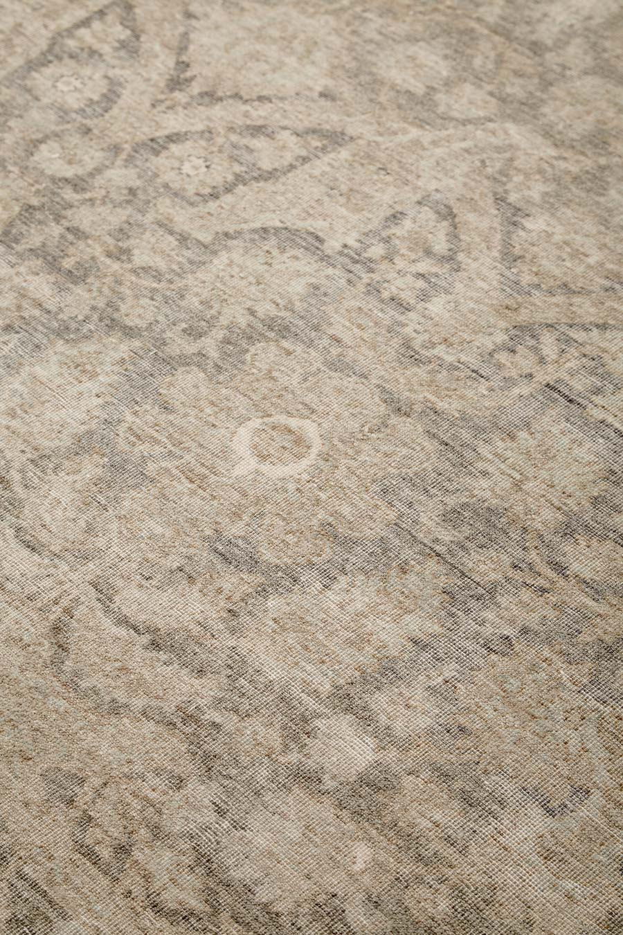 Detailed image of traditional Aphrodite rug in brown colour