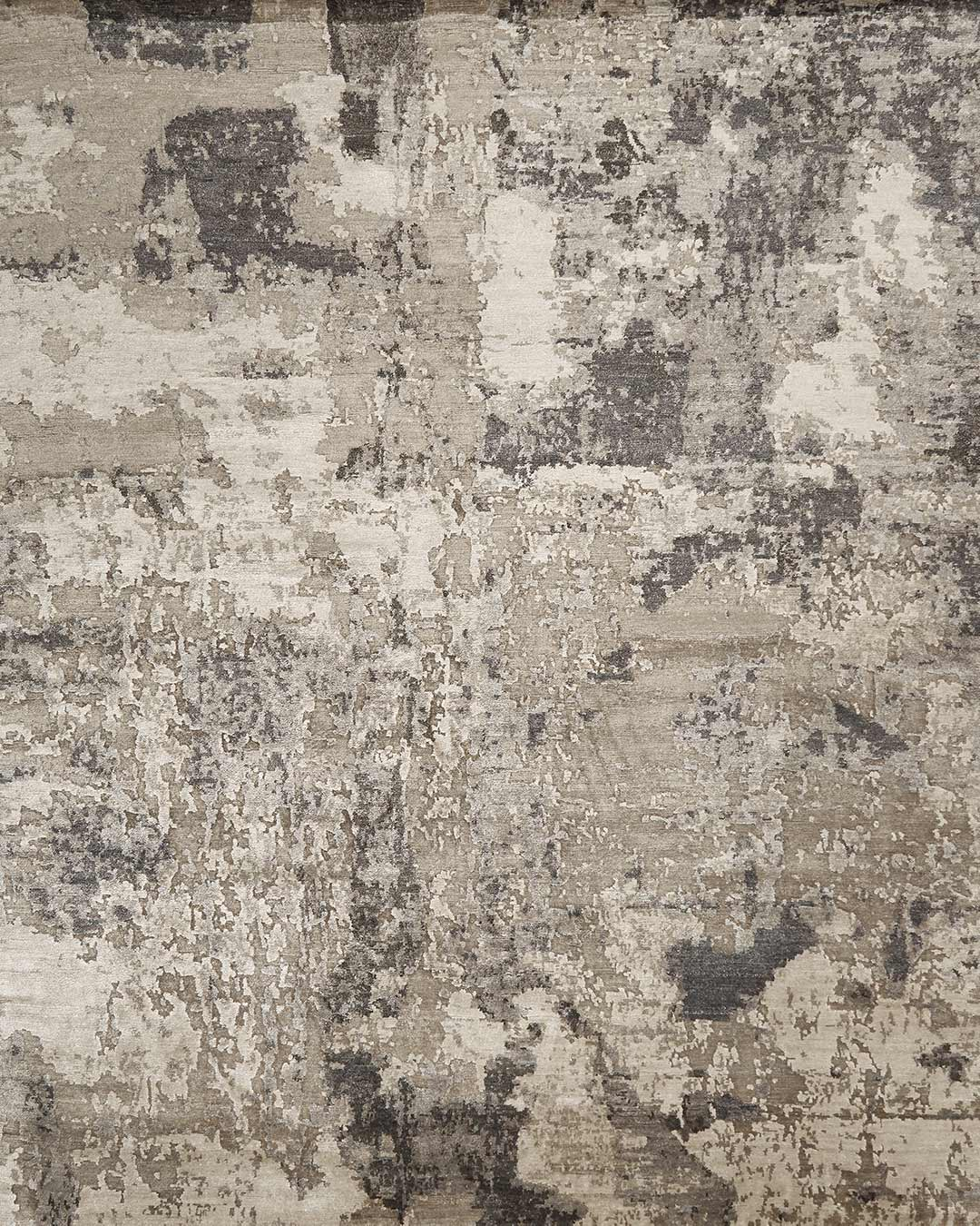 Overhead image of textured Nimbus rug