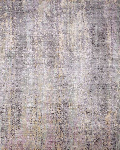 Product image of textural Swish rug in purple