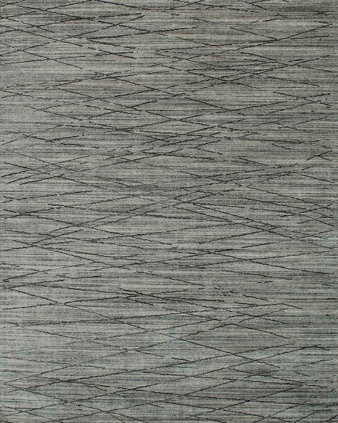 Product image of textured William rug in grey colour