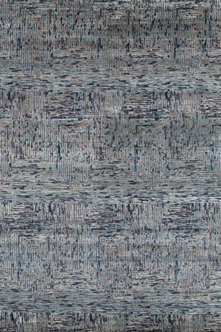 Overhead image of Zoe rug in charcoal colour