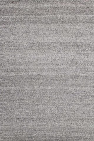 Overhead view of textured Chaser rug in grey colour