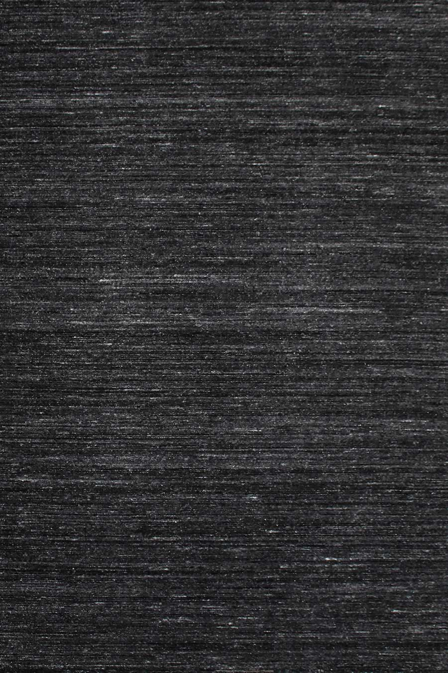 Overhead view of Chic textured rug in black colour