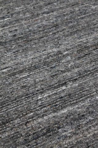 Close up view of Chic textured rug in grey colour