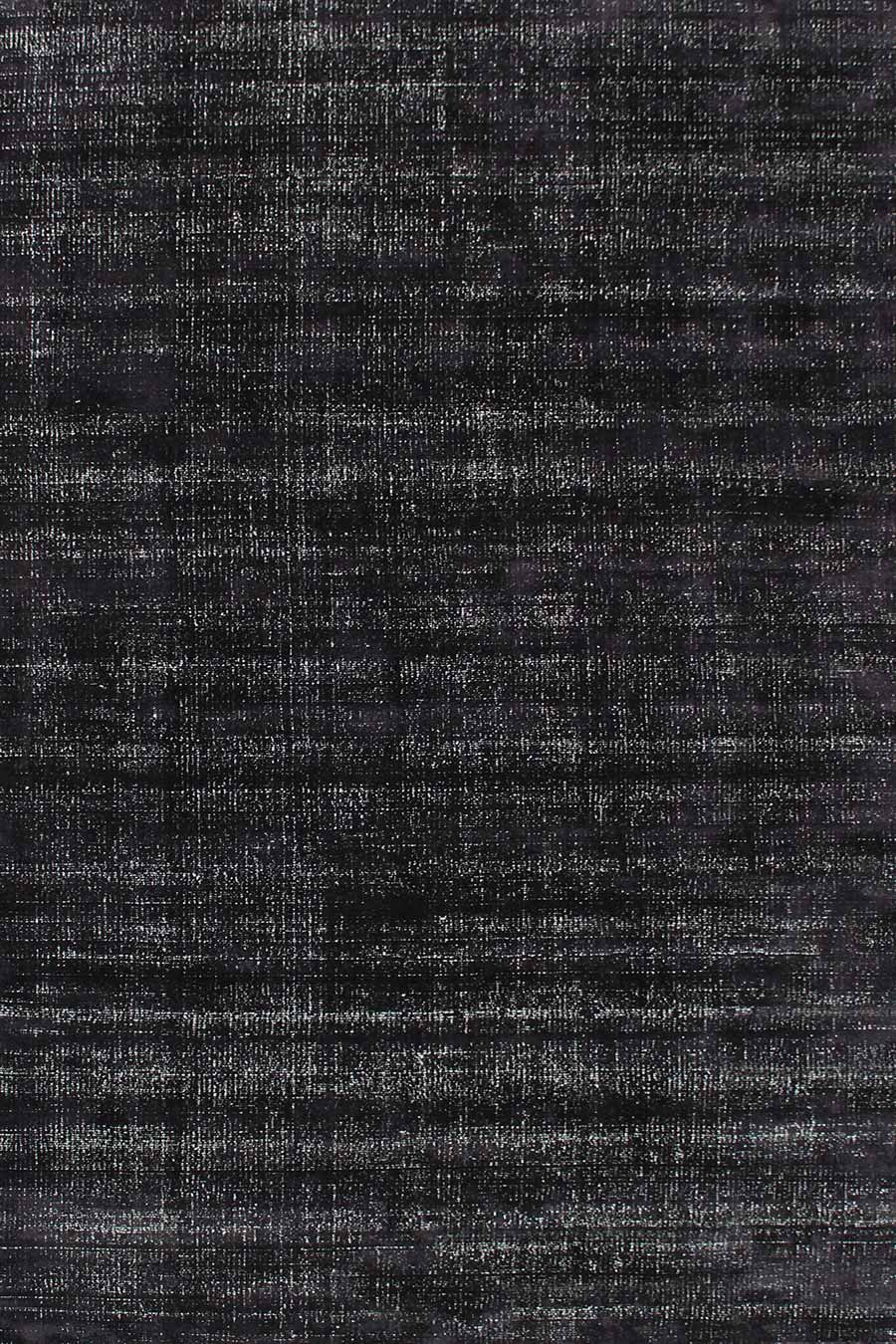 Overhead view of textured Colorado rug in black colour