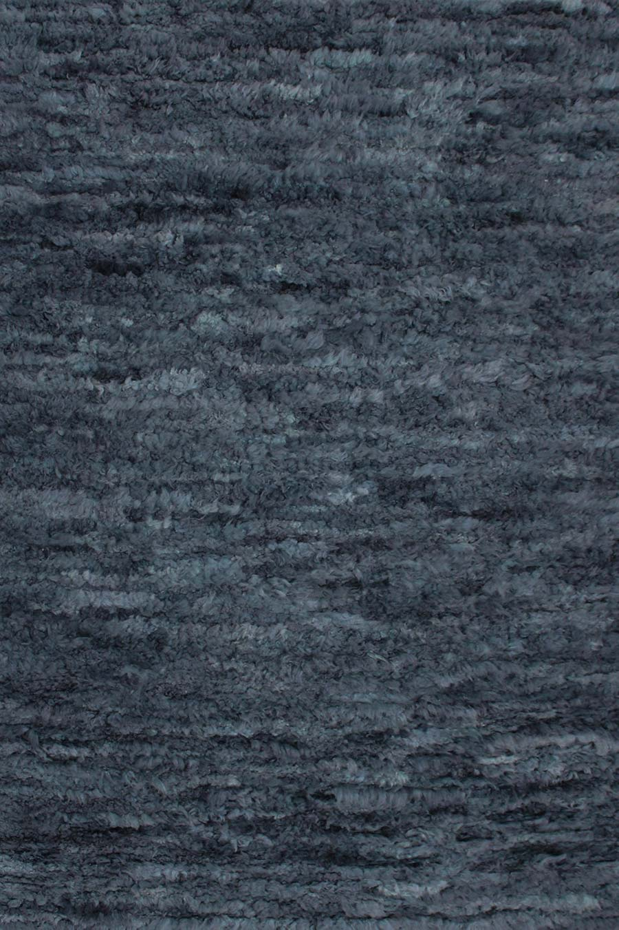Overhead view of Farah rug in navy blue colour