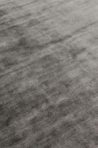Close up view of metallic Glam rug in brown colour