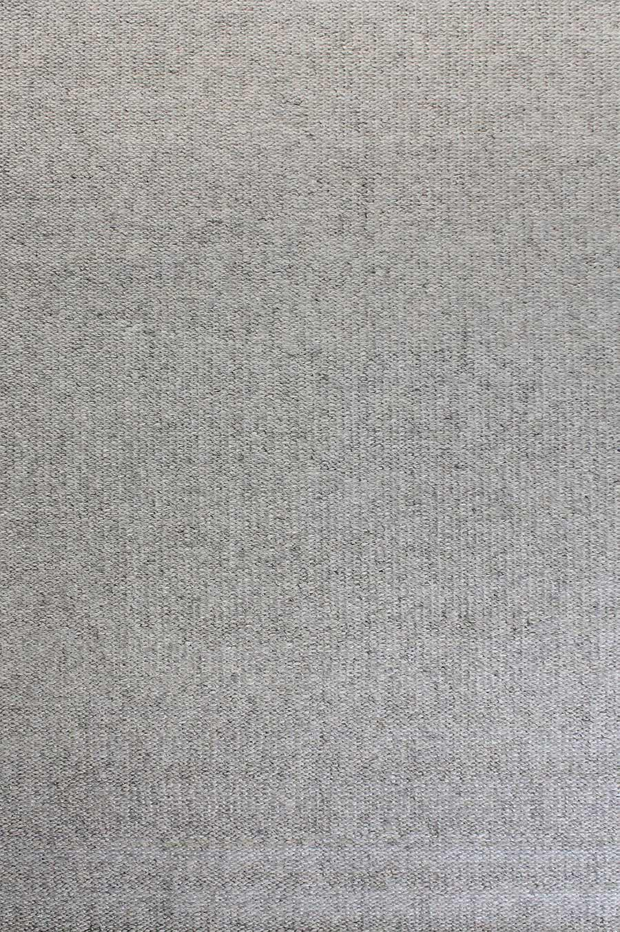 Overhead view of textured Mabel rug in light grey colour