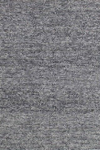 Overhead view of textured Marble rug in dark grey colour