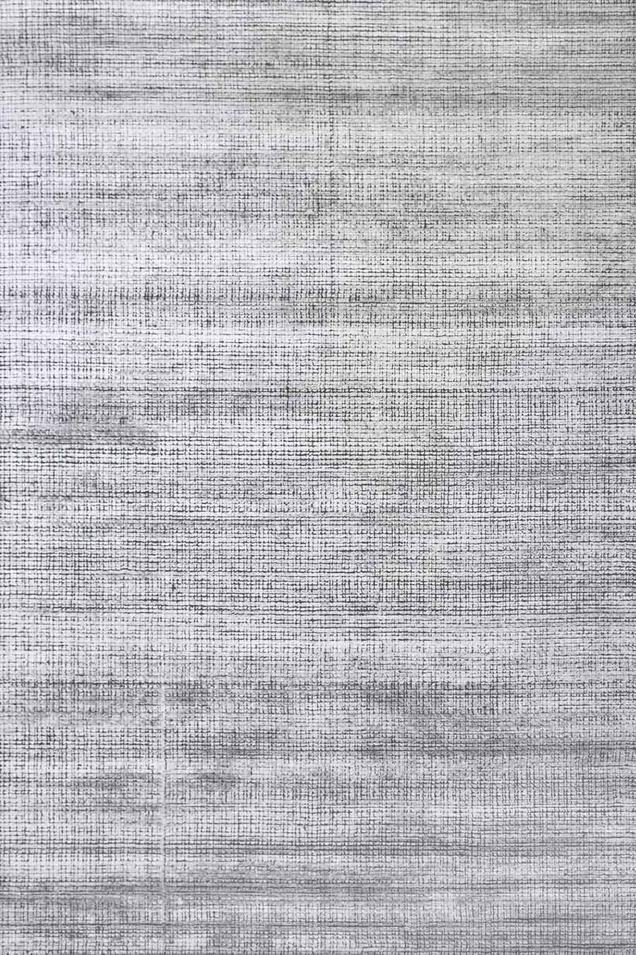 Overhead view of textured Molten rug in silver colour