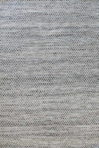 Overhead image of textured Plait Hive rug in grey colour