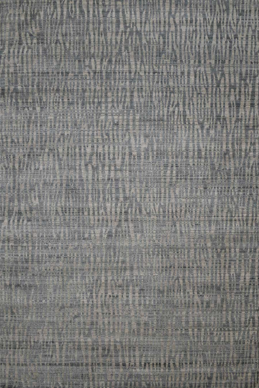Overhead image of animal Webster rug in grey colour