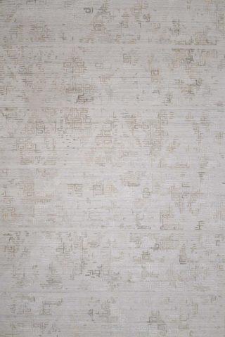 Overhead image of beige Wilson rug