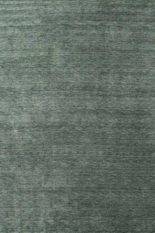 Overhead view of textured Zen rug in green colour
