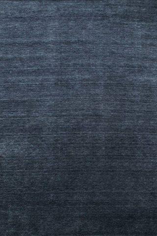 Overhead view of textured Zen rug in navy blue colour