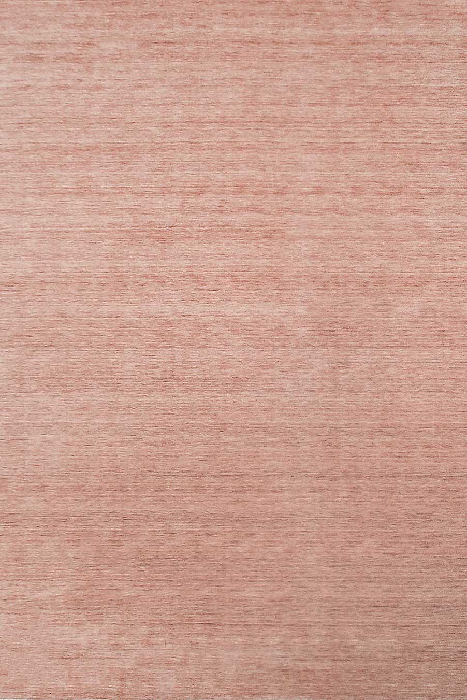 Overhead view of textured Zen rug in pink colour
