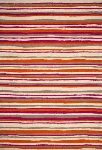 Boston Stripe in Magenta Colourway overhead image